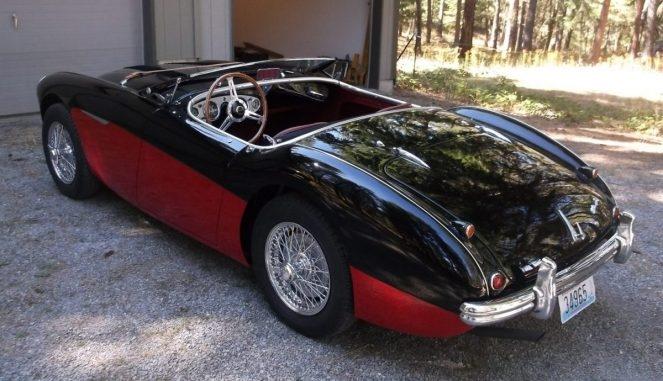 1956 Austin-Healy 100M
