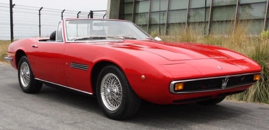 1970 Maserati Mistral Spyder