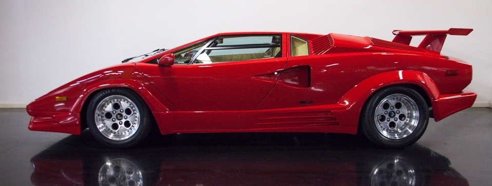 Numerous Lamborghini Countach